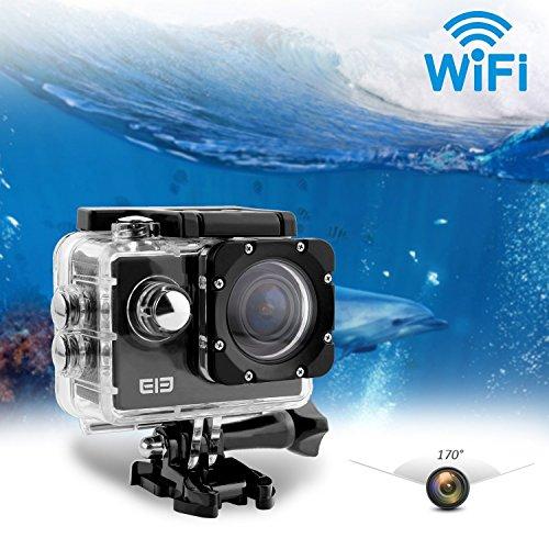 Elephone-ELE-CAM-Explorer-con-Wifi-Cmara-Deportiva-Impermeable-16MP-4K-1080P-64GB-y-Lentes-de-170-Grados-Amplios-H264-HDMI-y-Cmara-al-Aire-Libre-contra-Vibracin-Super-HD-con-LCD-de-20-Pulgadas-para-mo-0